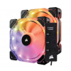 Corsair HD140 RGB High Performance PWM 140mm Twin Pack with Controller (CO-9050069-WW)