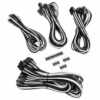 Corsair Premium Sleeved kábel szett - fehér/fekete /CP-8920149/