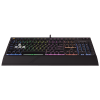 Corsair STRAFE RGB Mechanical Gaming Keyboard; RGB LED; Cherry MX Silent (EU)