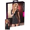 Cottelli - Masnis, csipkés kombinált ruha (fekete) (S)