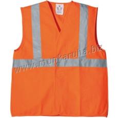 Coverguard Fluo jól láthatósági mellény,1 kereszt, 1 hosszanti csík, narancs