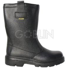 Coverguard PLATINUM (S3 CK) fekete, bélés nélküli színbõr csizma, kompozit lábujjvédõ, Welmax®...