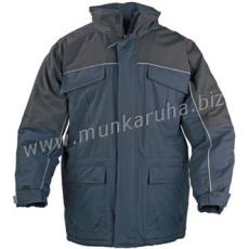 Coverguard RIPSTOP sötétkék/fekete kabát, szakadásbiztos anyag, polárbélés
