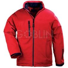 Coverguard YANG Winter piros, háromrétegû, lélegzõ és vízhatlan softshell télikabát