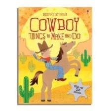Cowboy Things to Make and Do nyelvkönyv, szótár