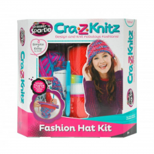 Cra-Z-Knitz - Trendi Csajszi Sapi Design kreatív és készségfejlesztő