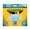 Crayola : 12 darabos vastag lemosható filctoll
