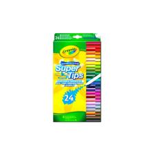 Crayola : 24 darabos kimosható vékony filctoll kreatív és készségfejlesztő