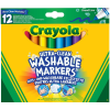 Crayola Crayola: 12 darabos lemosható filctoll