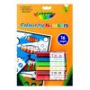 Crayola Crayola 16 lapos szám szerinti kifestő lemosható filccel