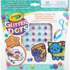 Crayola Crayola: Glitteres Dekorgyöngyök - kulcstartó készítő készlet