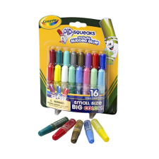 Crayola Crayola: Mini csillámos kimosható ragasztó - 16 db kreatív és készségfejlesztő