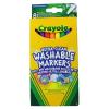 Crayola - kimosható vékony filctoll - 8 darabos