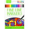Crayola Vékony színes filctollak - 12 darabos
