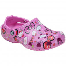 CROCS CLASSIC HELLO KITTY CLOG papucs D