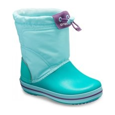 CROCS Crocband LodgePoint Boot Ice Blue/Tropical Teal 24-25 (C8)