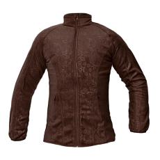 CRV YOWIE női polár kabát barna M