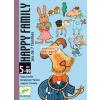 Családi kártyajáték - Happy family