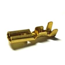 Csúszósaru kábelvég hüvely füles (anya) 2,8mm 015/446 elektromos alkatrész
