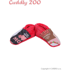 CUDDLY ZOO Mamusz Cuddly Állatkert Anya S korallpiros