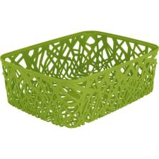 CURVER NEO COLORS szögletes alacsony kosár (A4) ,zöld 04161-598 papírárú, csomagoló és tárolóeszköz