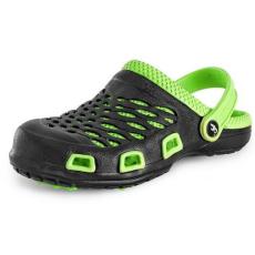 CXS Trend női papucs, fekete/zöld, méret: 36