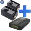 D2P 4.0 rejtett lézerblokkoló, 2 lézerfej + Kiyo GPS700 GPS detektor telepített traffipaxokhoz