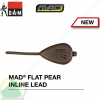 D.A.M MAD FLAT PEAR INLINE LEAD  85G 2db