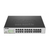 D-Link 24-Port Gigabit PoE Smart Switch (12 x PoE ports, fan) (DGS-1100-24P)