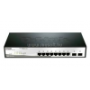 D-Link Switch 8x1000Mbps + 2 SFP slot (DGS-1210-10)