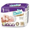 Dada Újszülött Gyermek eldobható pelenka DADA 1 Premium 2-5kg, 26db
