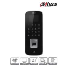 Dahua ASI1212D beléptető vezérlő, LCD kijelző, Mifare(13,56MHz)+kód+ujjlenyomat, RS-485/Wiegand/RJ45, I/O, IP65 barkácsolás, csiszolás, rögzítés