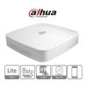 Dahua NVR2104-P-4KS2 NVR, 4 csatorna, H265, 80Mbps rögzítési sávszélesség, HDMI+VGA, 2xUSB, 1x Sata, 4 port PoE switch