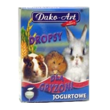Dako-Art Joghurtos dropsz rágcsálóknak 75g rágcsáló eledel