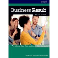 David Grant, Jane Hudson & John Hughes: Business Result Pre-intermediate Student's Book with Online Practice Second Edition idegen nyelvű könyv