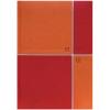 DAYLINER Cross, A5 napi beosztású agenda, Narancs-Piros