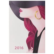 "DAYLINER Naptár, tervező, A5, heti, , ""Colors"", fashion naptár, kalendárium"