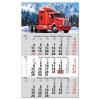 DAYLINER Primus Classic, 12 lapos speditőr naptár - Kamion fejrésszel
