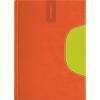 """DAYLINER Tárgyalási napló, B5, DAYLINER, """"Memphis"""", narancs-zöld"""