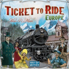Days of Wonder Ticket to Ride Europe (Zug um Zug Europa) társasjáték