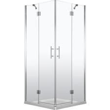Deante Abelia szögletes nyílóajtós zuhanykabin átlátszó üveggel, 80x80 cm kád, zuhanykabin