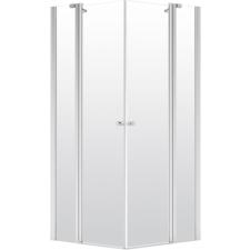 Deante Alpinia szögletes nyílóajtós zuhanykabin átlátszó üveggel, 80x80 cm kád, zuhanykabin