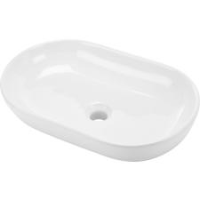 Deante Peonia pultra szerelhető mosdó, 55cm, fehér fürdőszoba kiegészítő