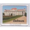 Debrecen egyetem alsó felirattal hűtőmágnes (műanyag keretes)