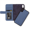 Decoded Leather 2in1 Wallet Blue iPhone XS/X