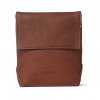 Decoded Leather Travel Pouch, brown