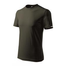 DEDRA BH5TA-XL férfi rövid ujjú póló xl, army, 100% pamut férfi póló