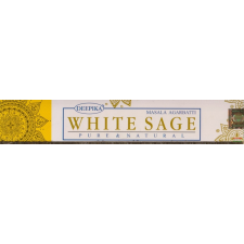 Deepika Fragrance White Sage - Masala Agarbatti Pure & Natural füstölő 15 g füstölő