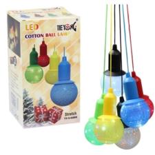 Dekoratív PAMUT LED hangulat lámpa karácsonyi dekoráció