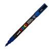 Dekormarker UNI POSCA PC-3M 0.9-1.3 mm, kúpos, KÉK